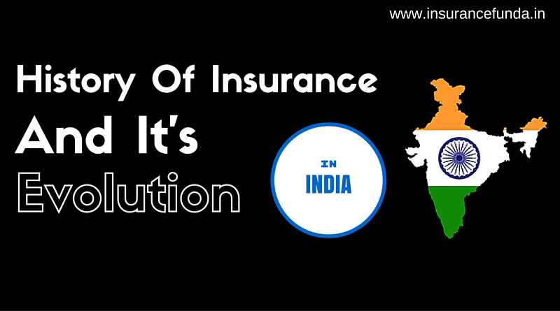 History of Insurance and its evolution in India ...